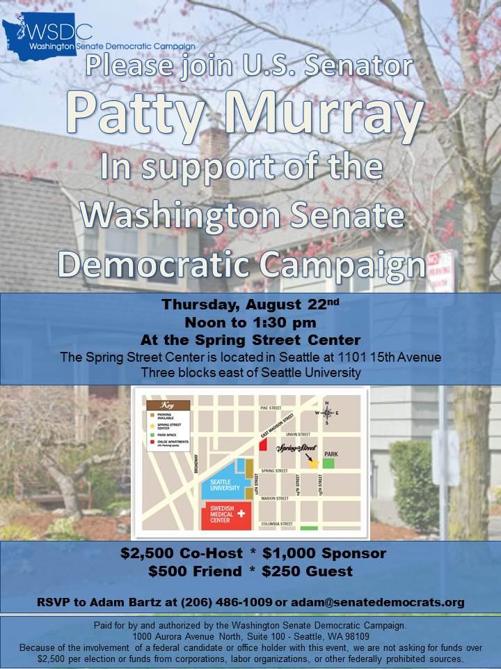 Patty Murray Invite