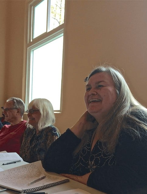 Meredith Nelson at the Cascadia Poetry Festival Workshop, May 2, 2014
