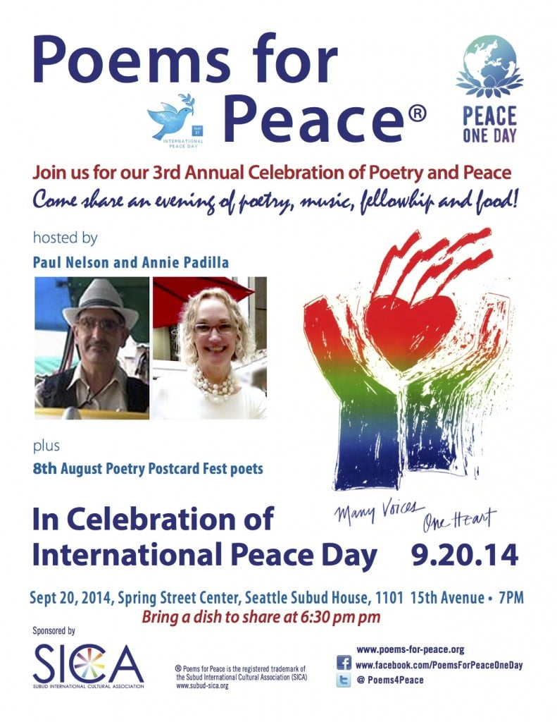 Poems For Peace 2014