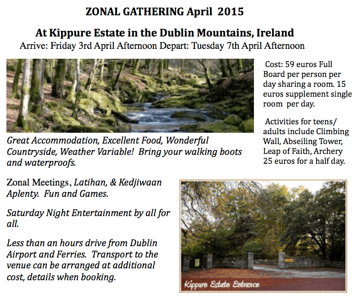 Zonal Gathering Ireland