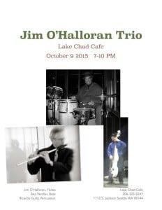 Jim O'Halloran Lake Chad 10-9--15 promo